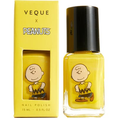 Veque X Peanuts Ve Vernis Nail Polish - Yellow-Charlie (Nordstrom Exclusive)