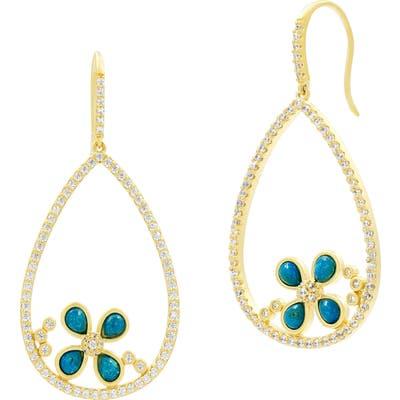 Freida Rothman Harmony Open Fish Hook Earrings