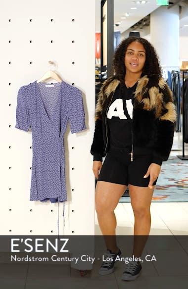 Lucky Wrap Minidress, sales video thumbnail