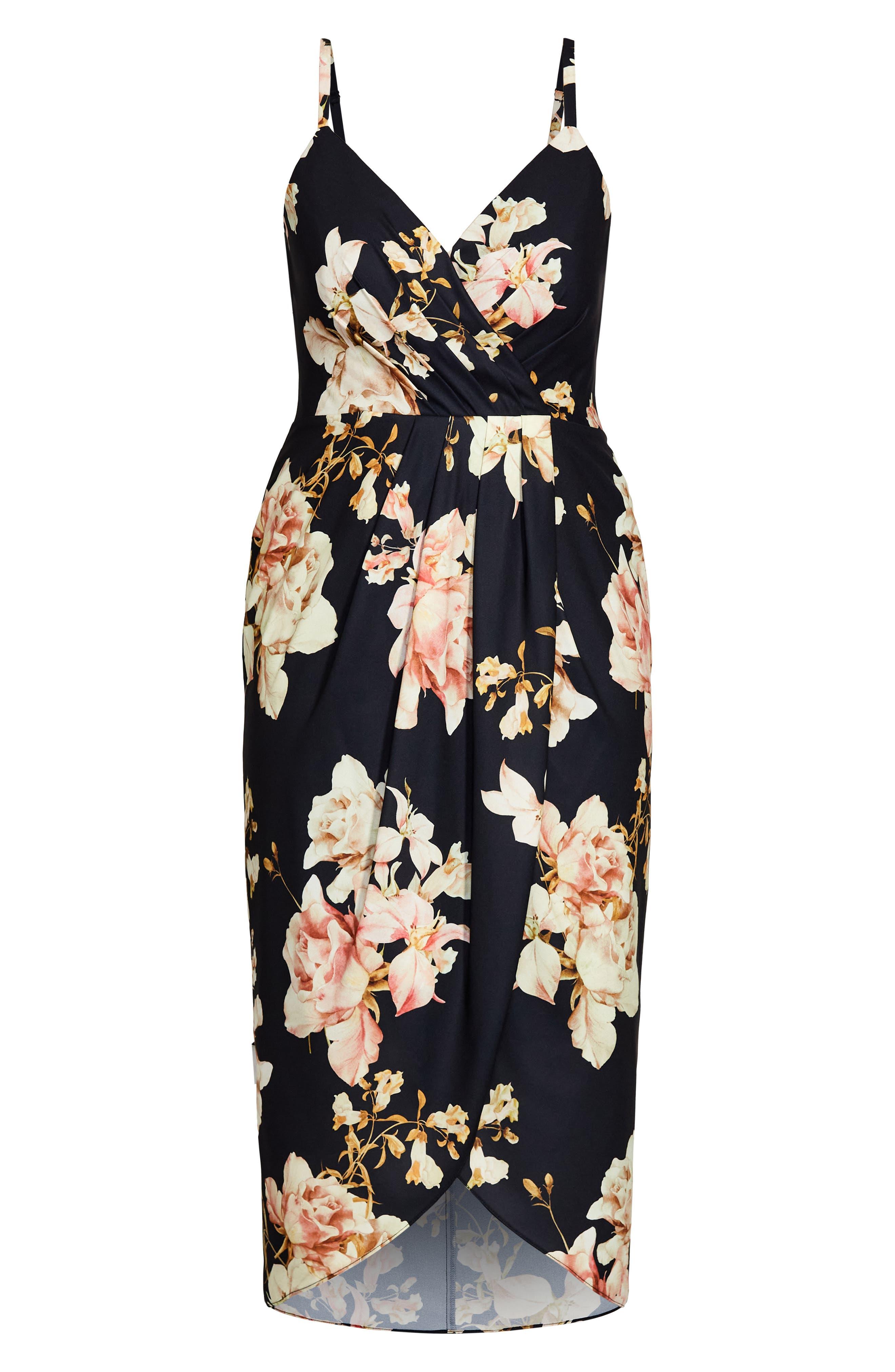 Floral Flourish Sheath Dress