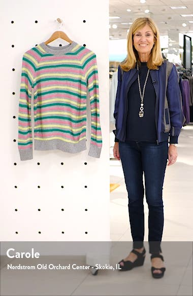 Carly Pop Stripe Pullover, sales video thumbnail