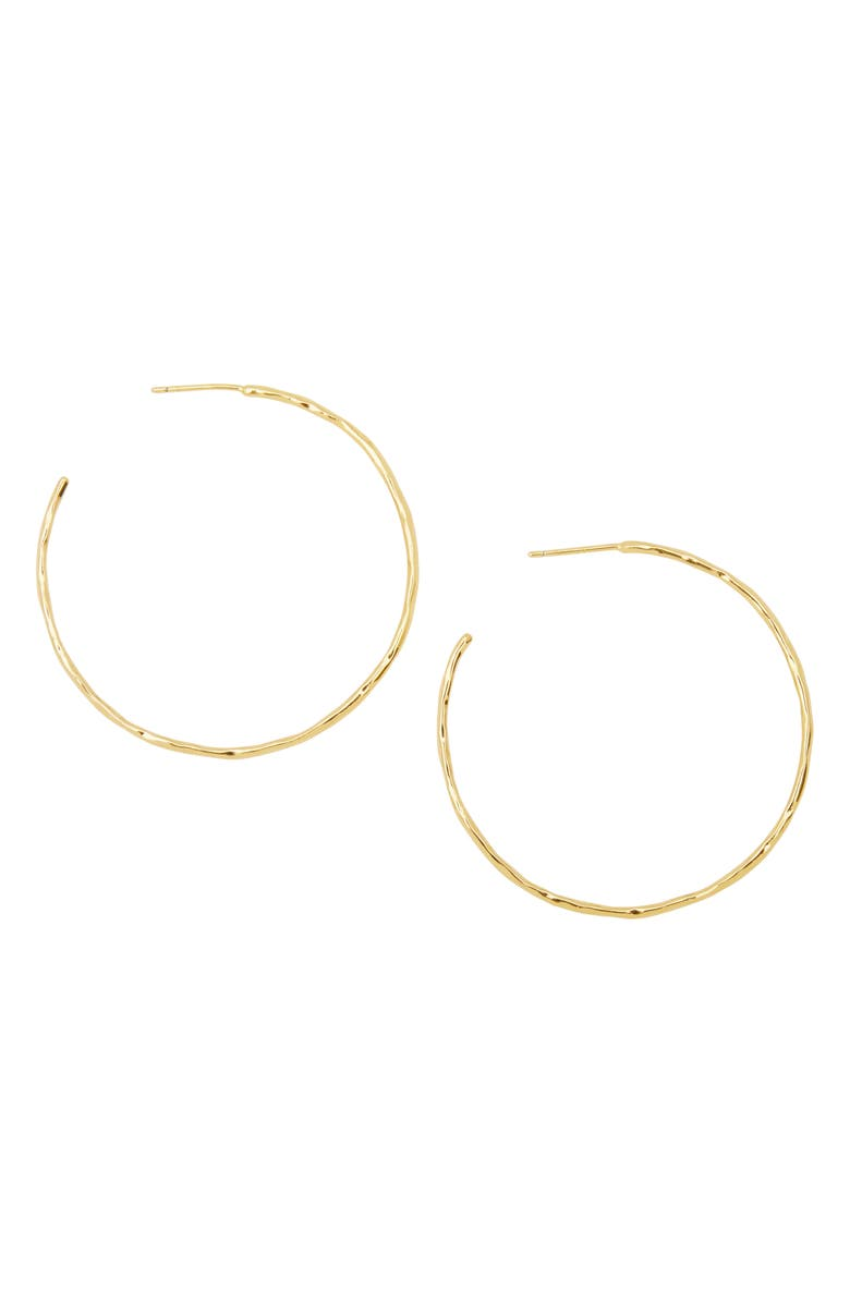 GORJANA Taner Hoop Earrings, Main, color, GOLD