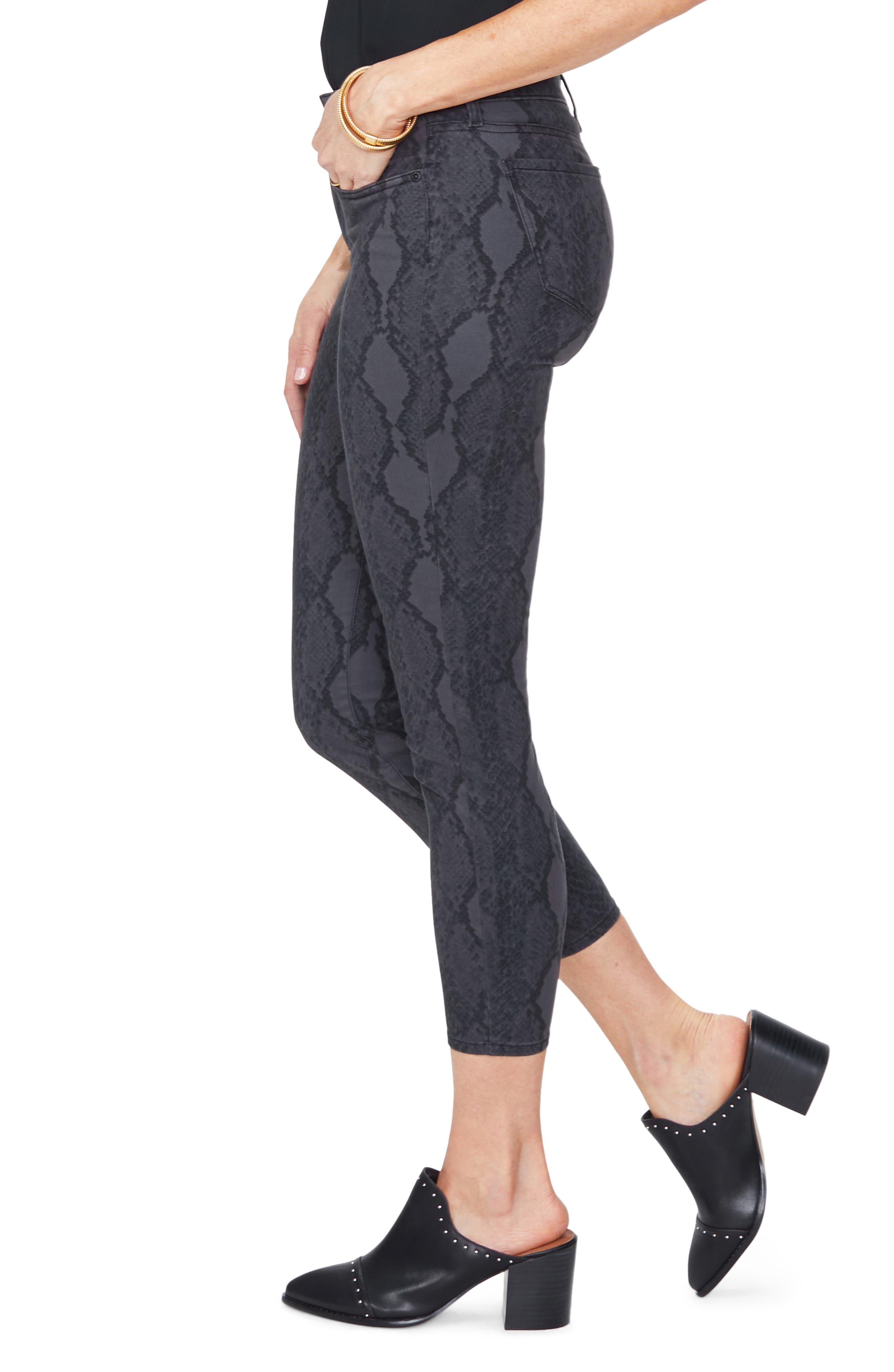 ,                             Ami High Waist Camo Ankle Skinny Jeans,                             Alternate thumbnail 3, color,                             DIAMONDBACK