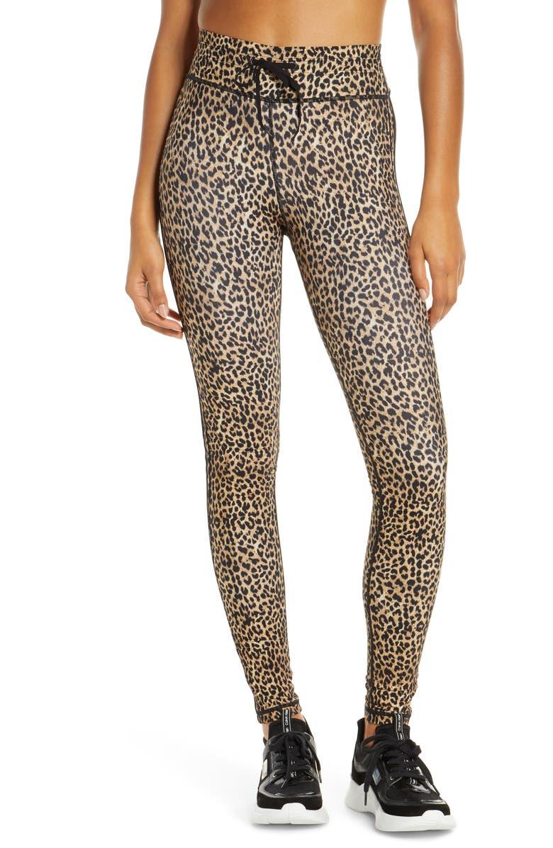 THE UPSIDE Leo Yoga Pants, Main, color, LEOPARD