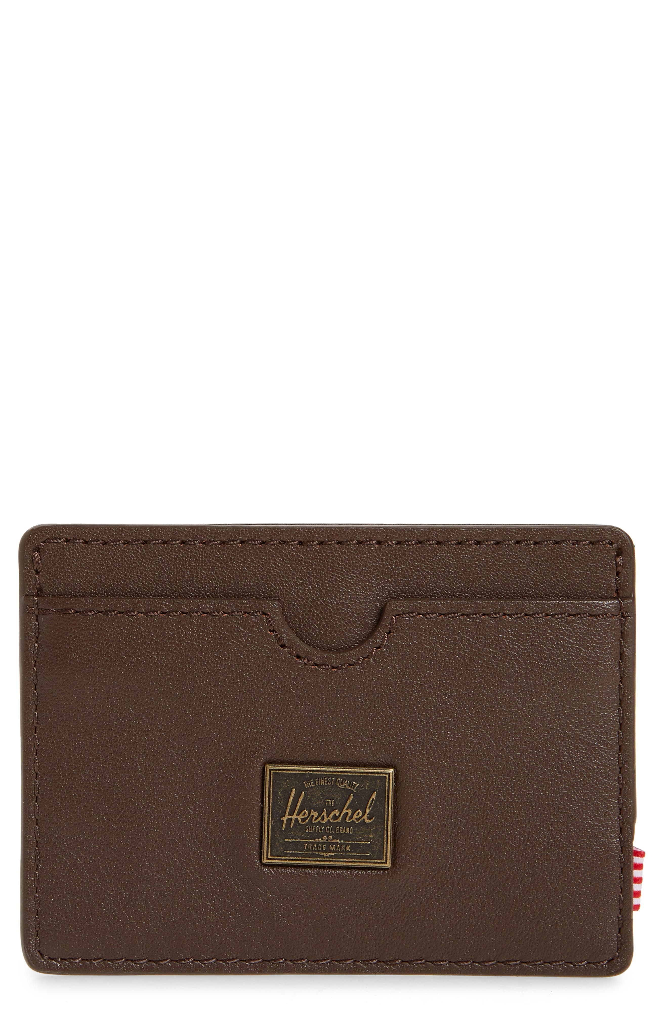 Charlie Rfid Leather Card Case