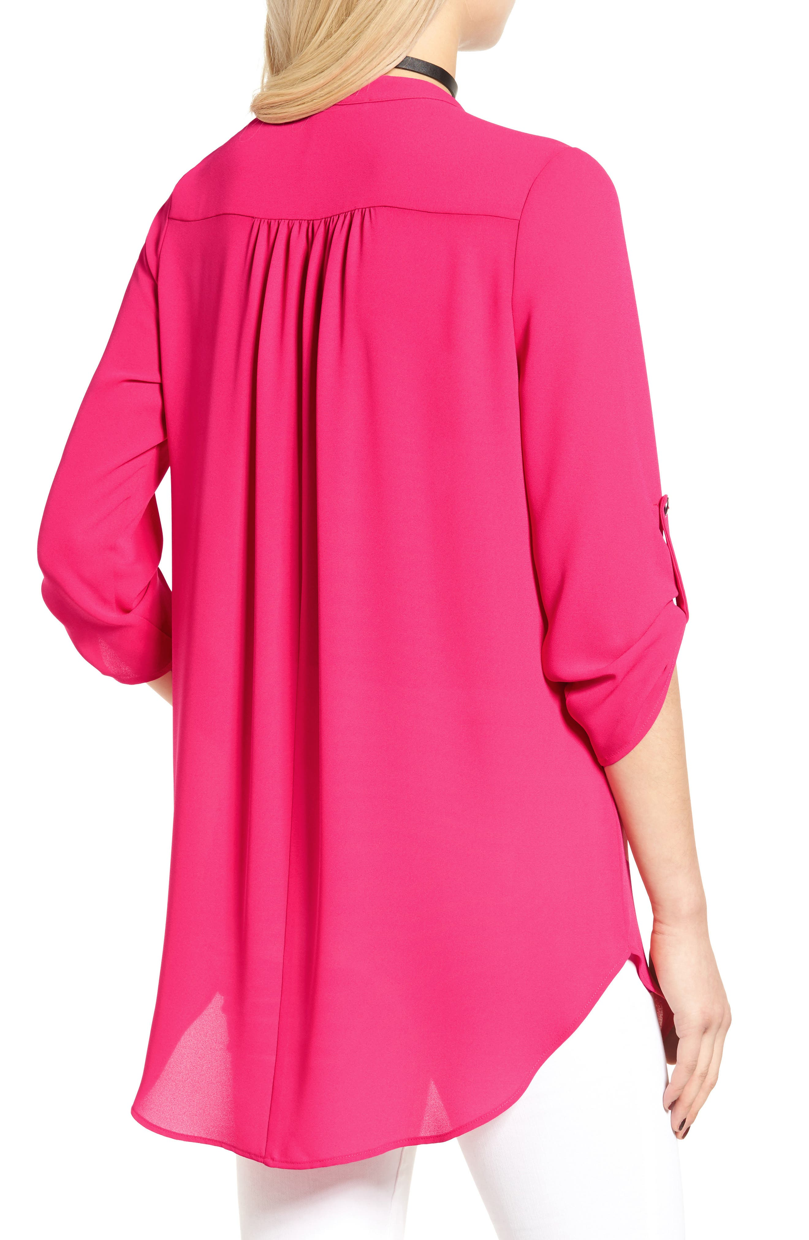 ,                             Perfect Roll Tab Sleeve Tunic,                             Alternate thumbnail 375, color,                             668