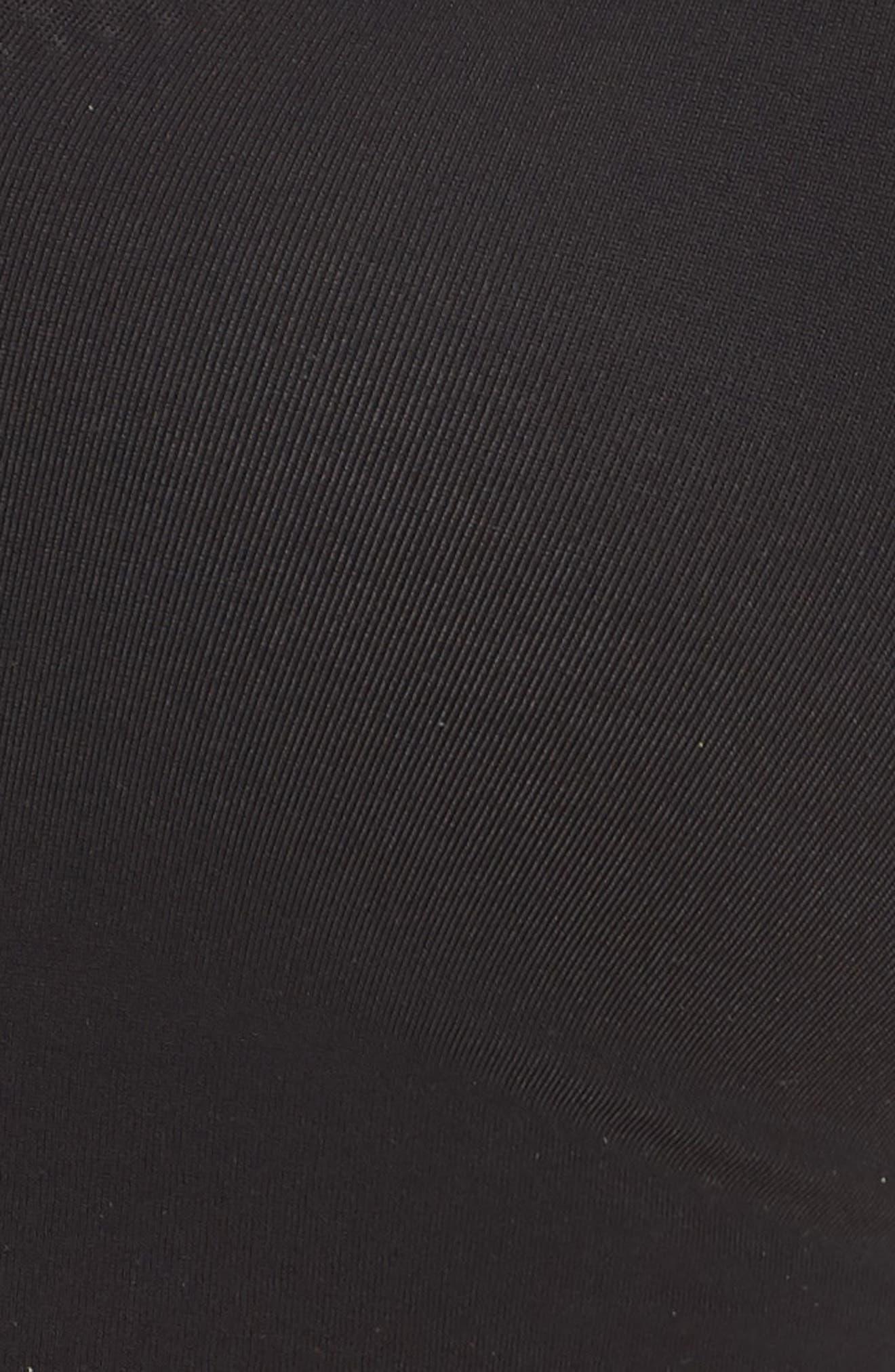 ,                             True Body Triangle Convertible Bralette,                             Alternate thumbnail 8, color,                             BLACK