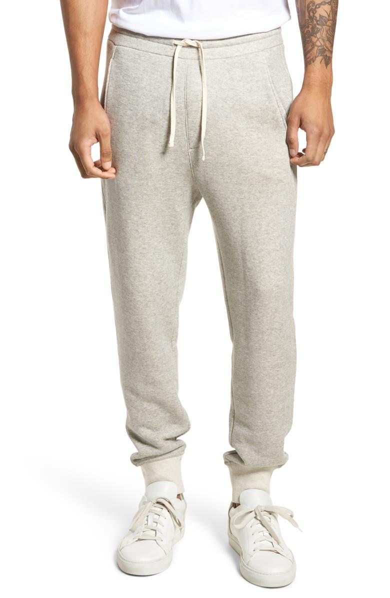 VINCE Plush Cotton Jogger Pants, Main, color, 062