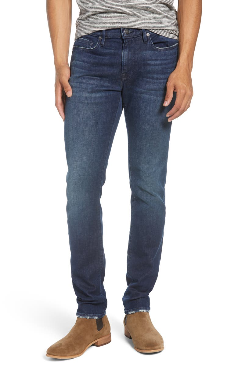 FRAME L'Homme Skinny Fit Jeans, Main, color, 401
