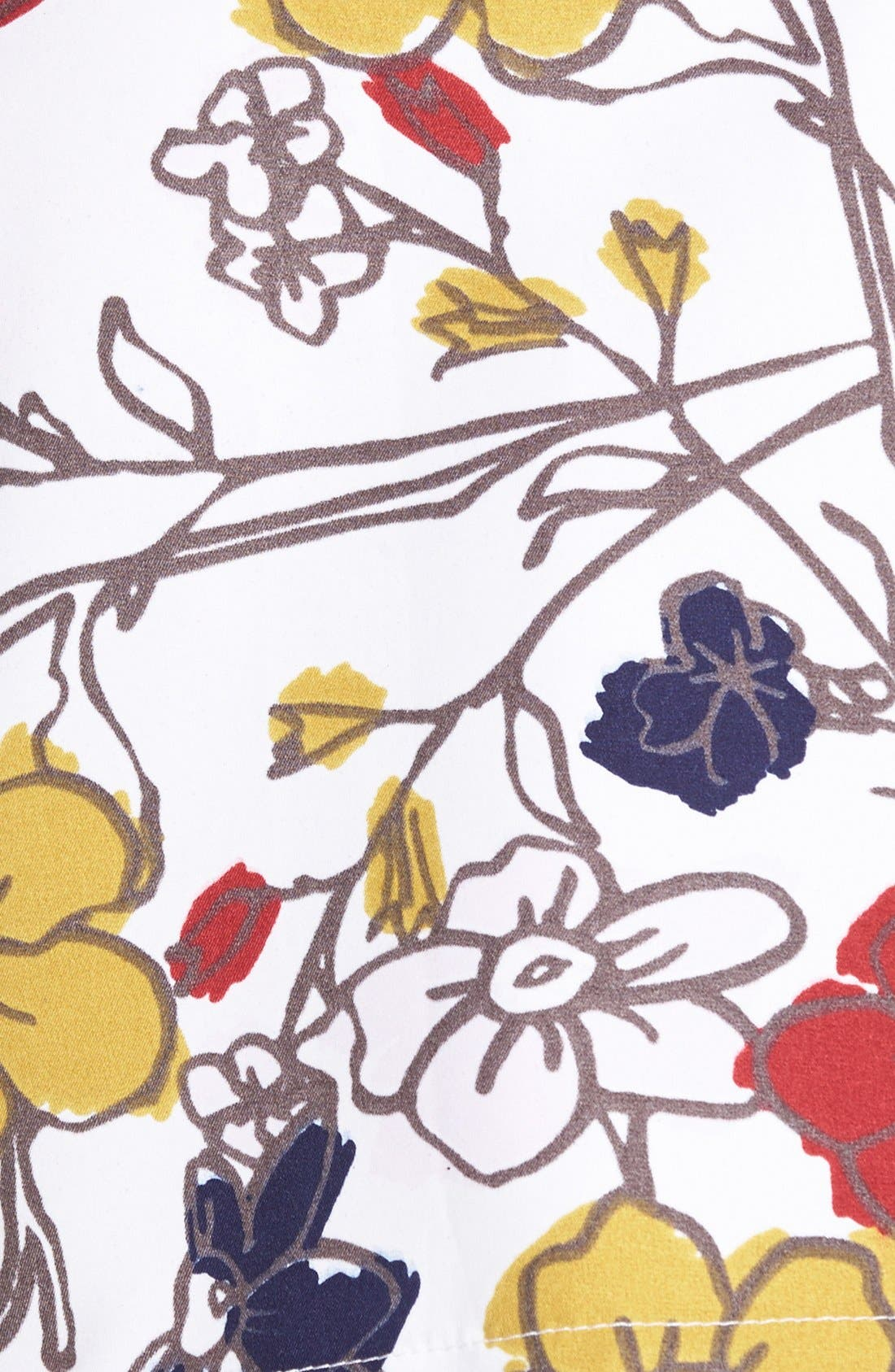 ,                             Floral Tennis Skirt,                             Alternate thumbnail 5, color,                             100