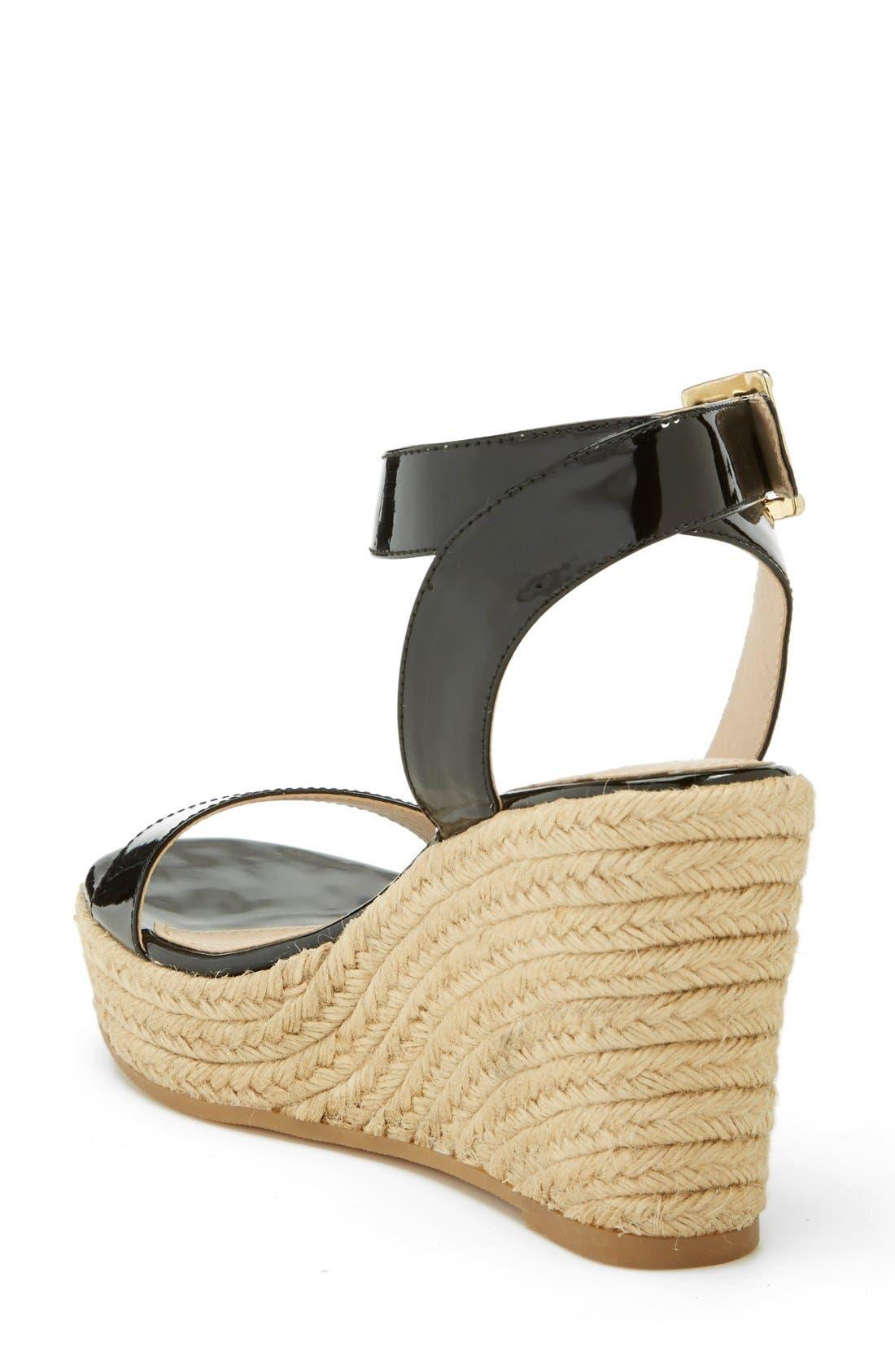 ,                             'Seaside' Wedge Sandal,                             Alternate thumbnail 7, color,                             008