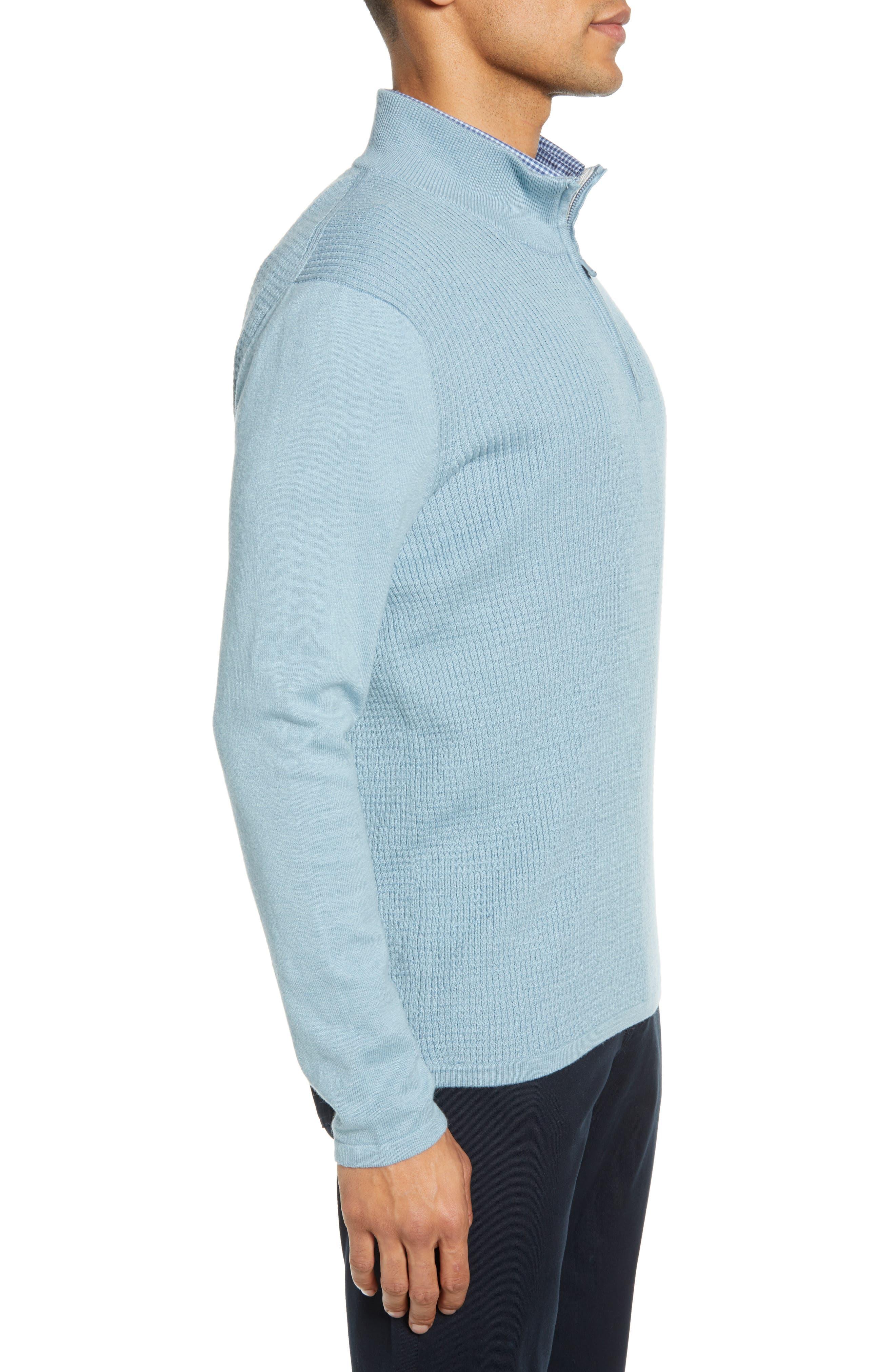 ,                             Higgins Quarter Zip Sweater,                             Alternate thumbnail 21, color,                             444