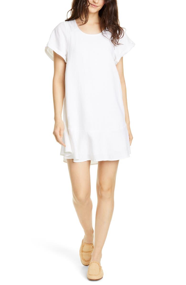 JOIE Carlen Linen Shift Dress, Main, color, 900