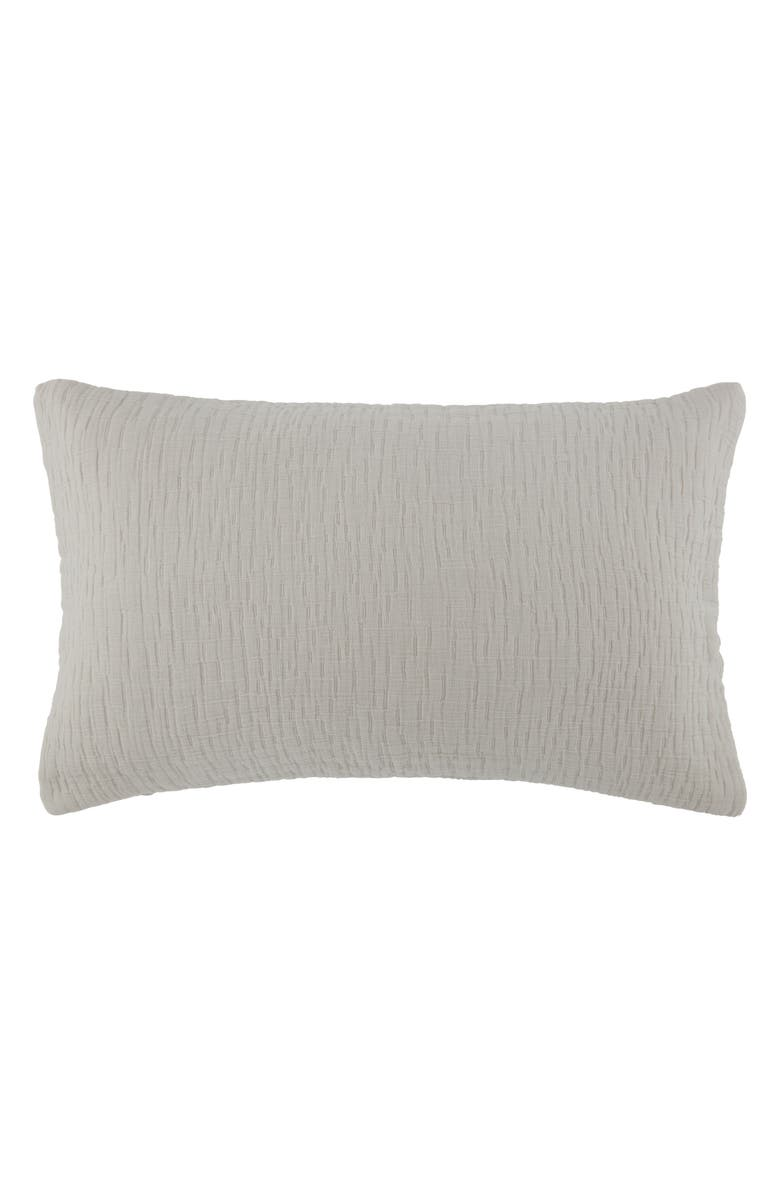KASSATEX Lafayette Accent Pillowcase, Main, color, DOLPHIN GREY