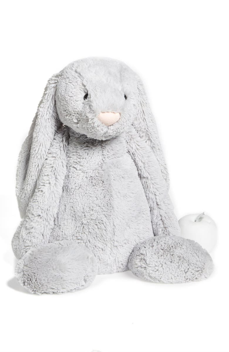 JELLYCAT Bunny Stuffed Animal, Main, color, 020