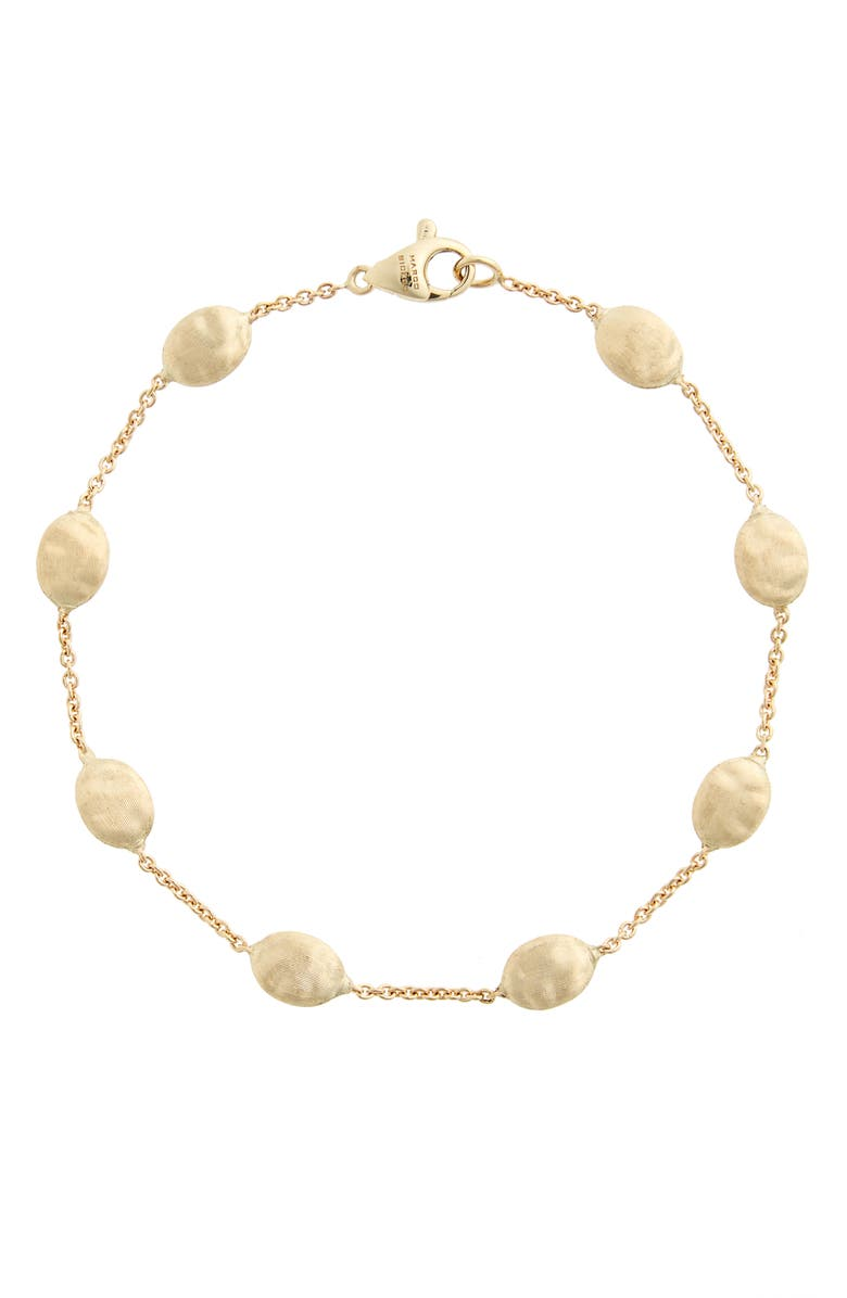 MARCO BICEGO 'Siviglia' Station Bracelet, Main, color, GOLD