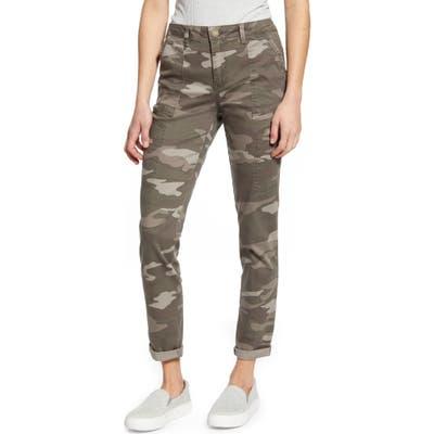 Wit & Wisdom Flex-Ellent Camo High Waist Cargo Pants, Brown (Nordstrom Exclusive)