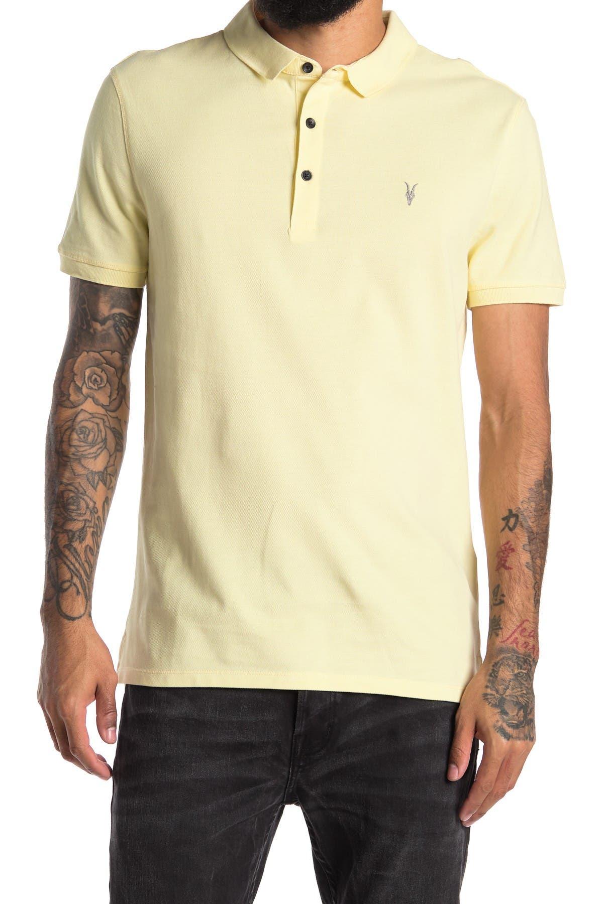 Image of ALLSAINTS Form Short Sleeve Polo
