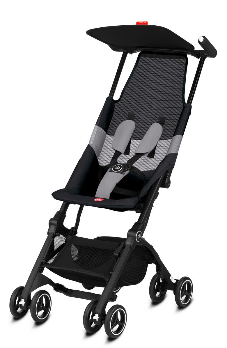 CYBEX gb Pockit Air Stroller with All Terrain Wheels, Main, color, VELVETBLACK