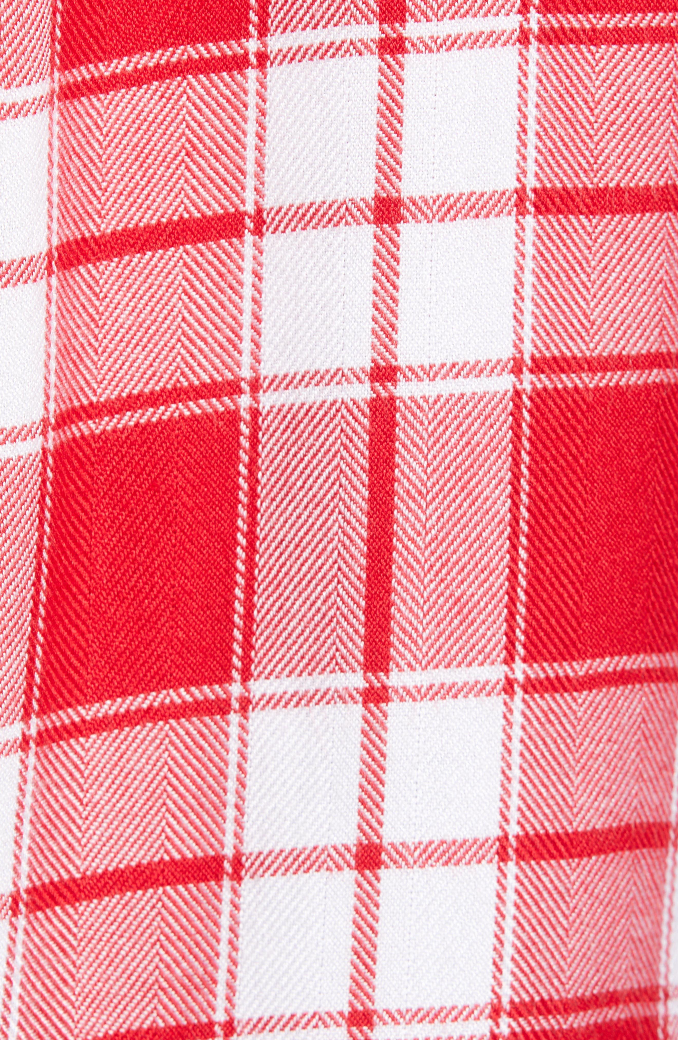 ,                             Hunter Plaid Shirt,                             Alternate thumbnail 184, color,                             609