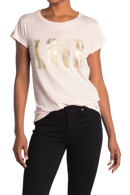 Image of Zadig & Voltaire Love T-Shirt