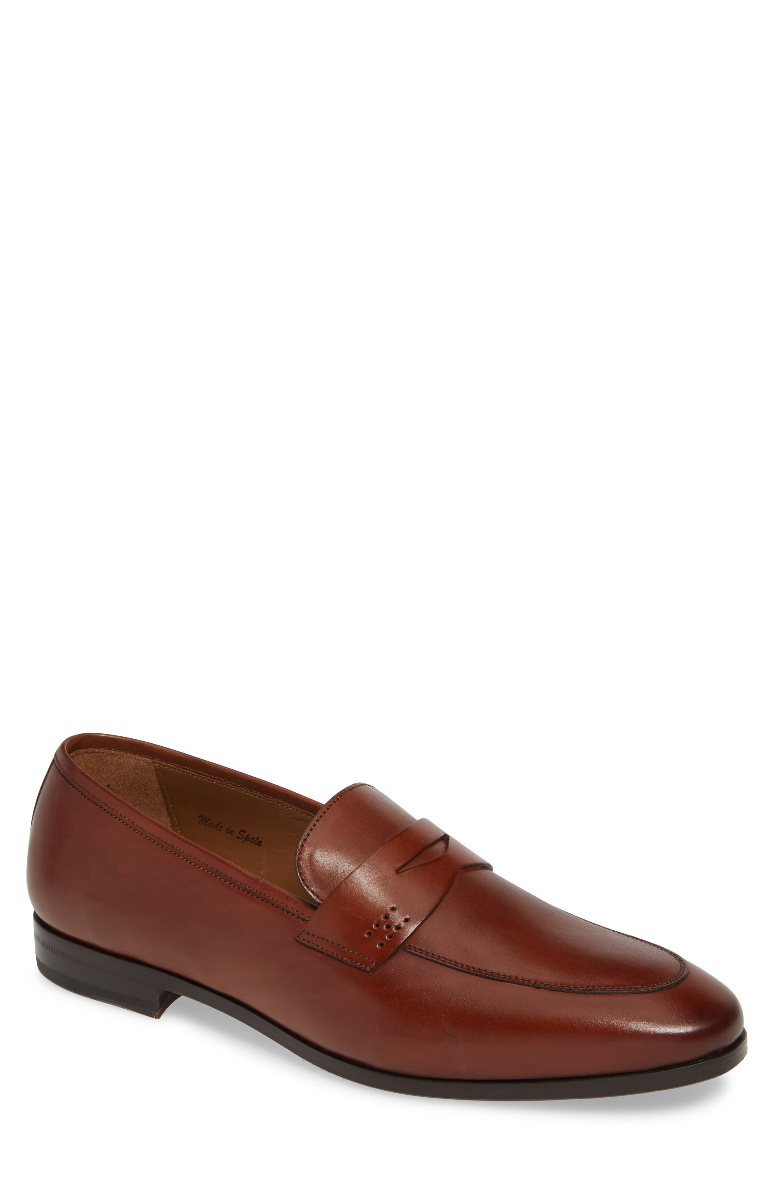 Mezlan Fabrizi Penny Loafer, Brown