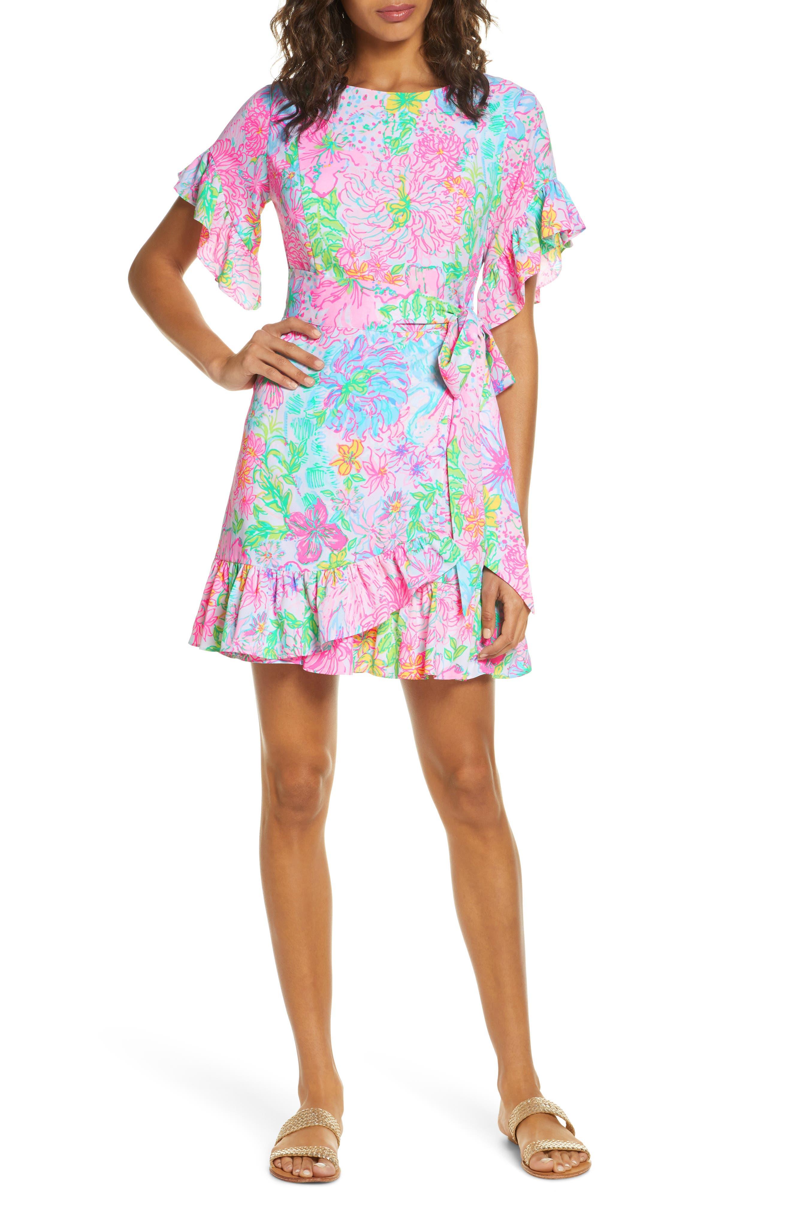 Women's Lilly Pulitzer Darlah Ruffle Dress