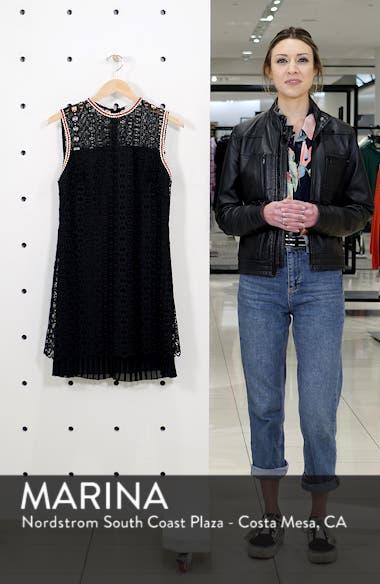 Franck Crochet Shift Dress, sales video thumbnail