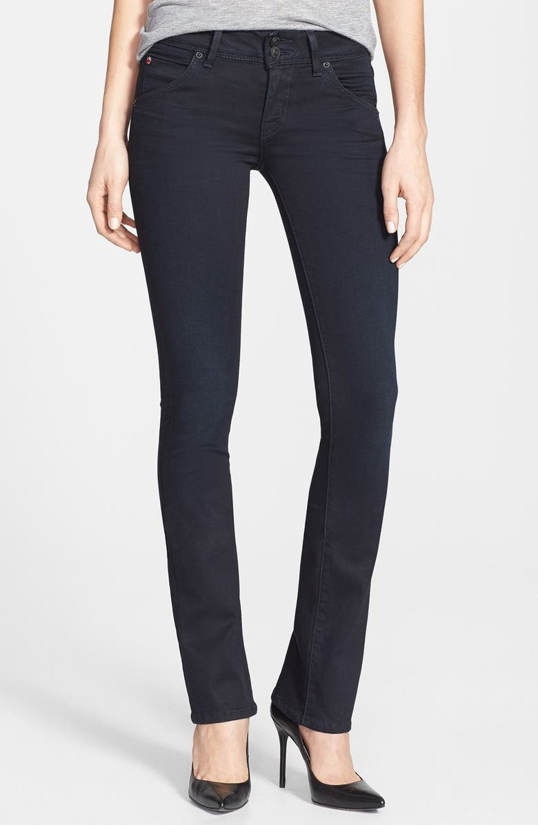'Beth' Mid Rise Baby Bootcut Jeans