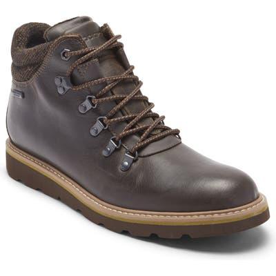 Rockport Storm Front Alpine Waterproof Plain Toe Boot- Brown
