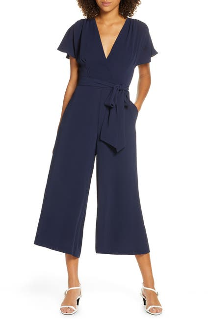 Image of French Connection Bessie Crepe Verona Jumpsuit
