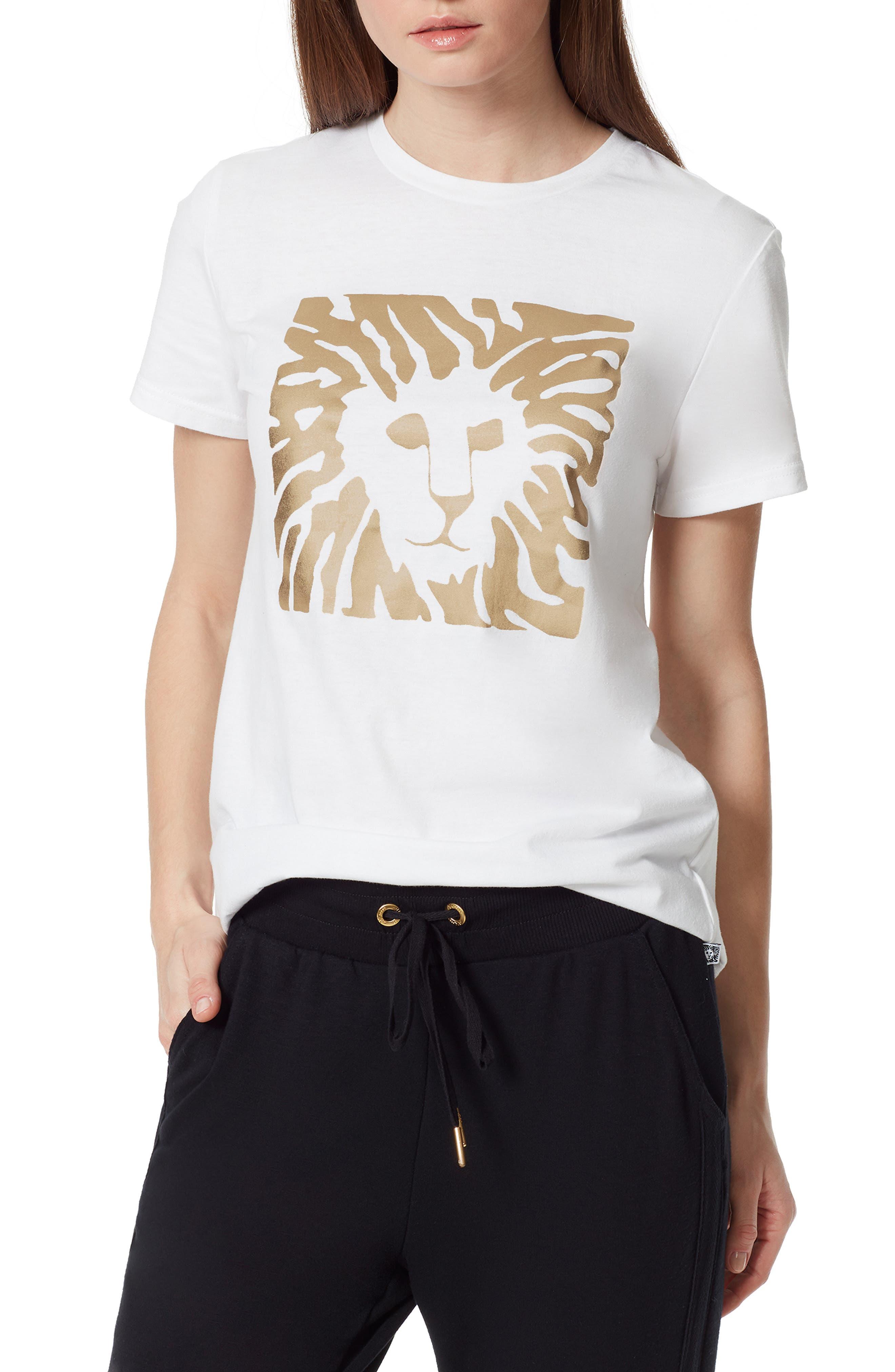 Women's Anne Klein Sport Dylan Lion Graphic Tee