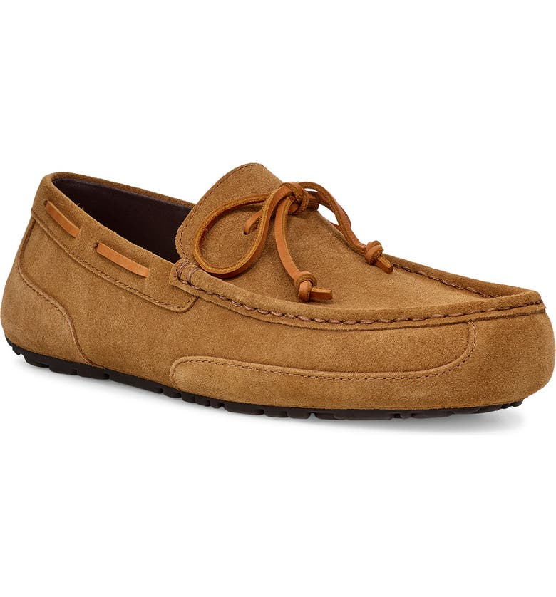 UGG<SUP>®</SUP> 'Chester' Twinsole<sup>®</sup> Driving Loafer, Main, color, CHESTNUT