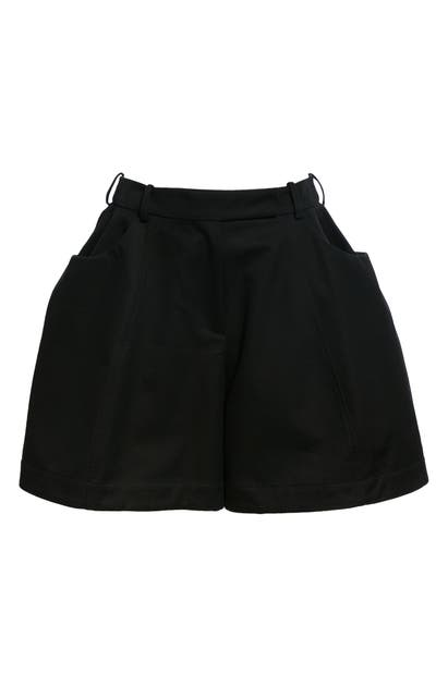 Simone Rocha SCULPTED COTTON SHORTS