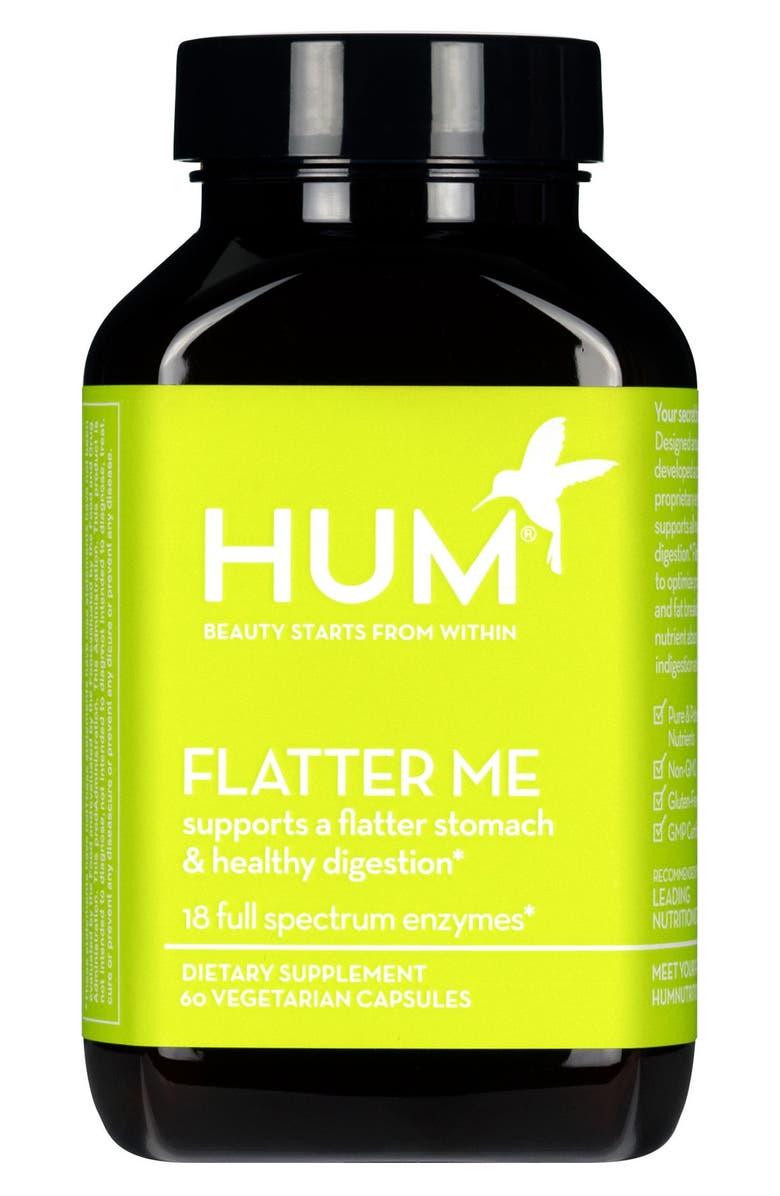 HUM NUTRITION Flatter Me Digestive Enzyme Supplement, Main, color, NO COLOR