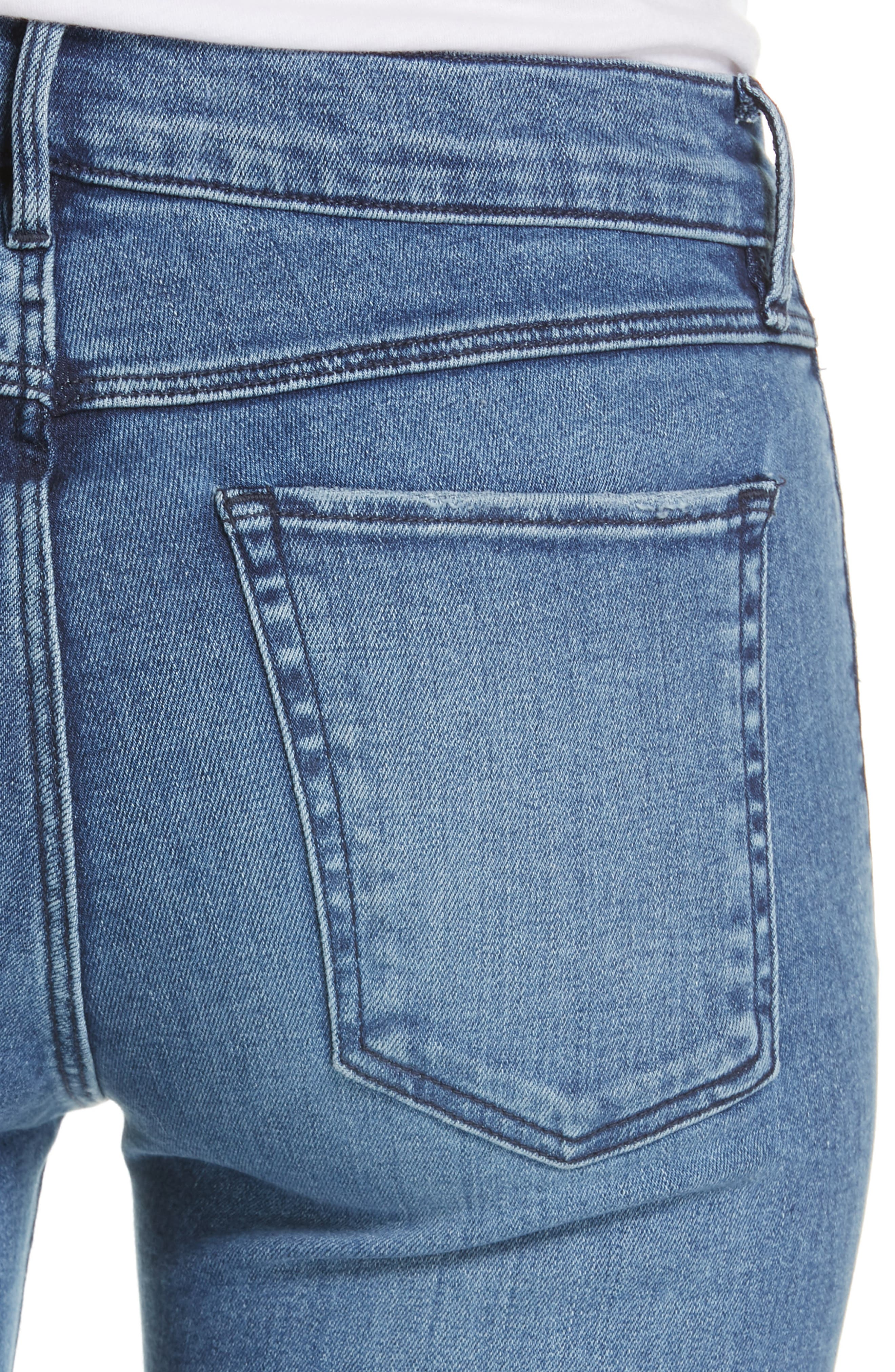 ,                             Ankle Skinny Jeans,                             Alternate thumbnail 5, color,                             ELIZA