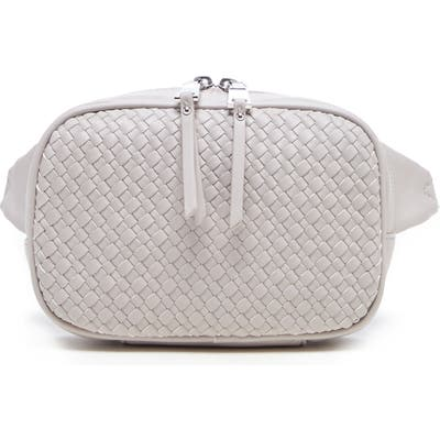 Sole Society Ady Faux Leather Belt Bag - Beige