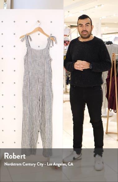 Lakeshore Sleeveless Stripe Jumpsuit, sales video thumbnail