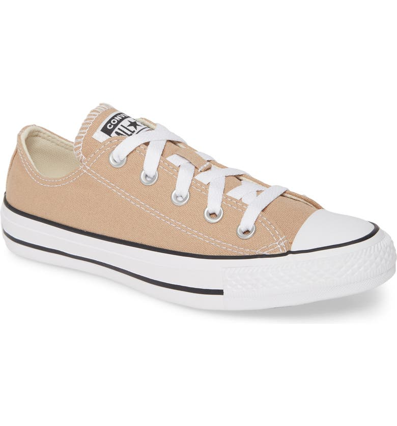 CONVERSE Chuck Taylor<sup>®</sup> All Star<sup>®</sup> Seasonal Ox Low Top Sneaker, Main, color, DESERT KHAKI