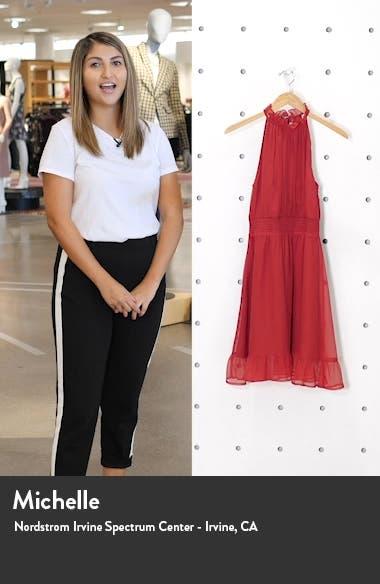 High Neck A-line Minidress, sales video thumbnail