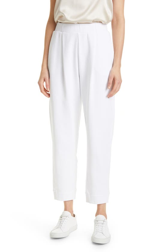 Max Mara Pants COTTON JERSEY PULL-ON TROUSERS