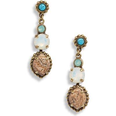 Sorrelli Navette Crystal Drop Earrings