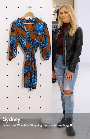 Lucia Floral Shirtdress, sales video thumbnail