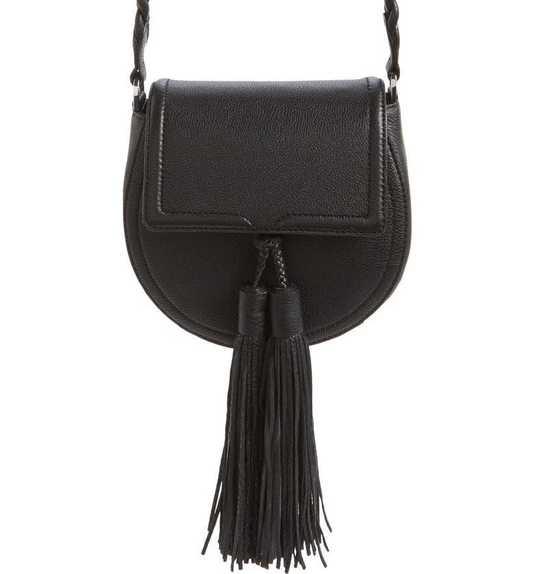 REBECCA MINKOFF 'Isobel' Saddle Bag, Main, color, 001