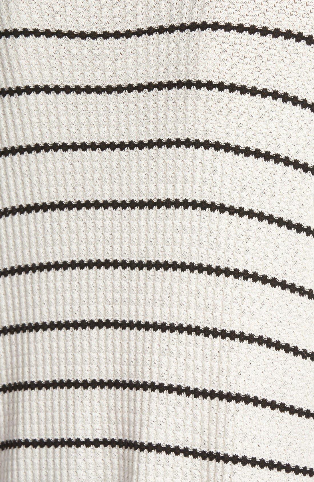 ,                             Stripe Thermal Sweater,                             Alternate thumbnail 4, color,                             001