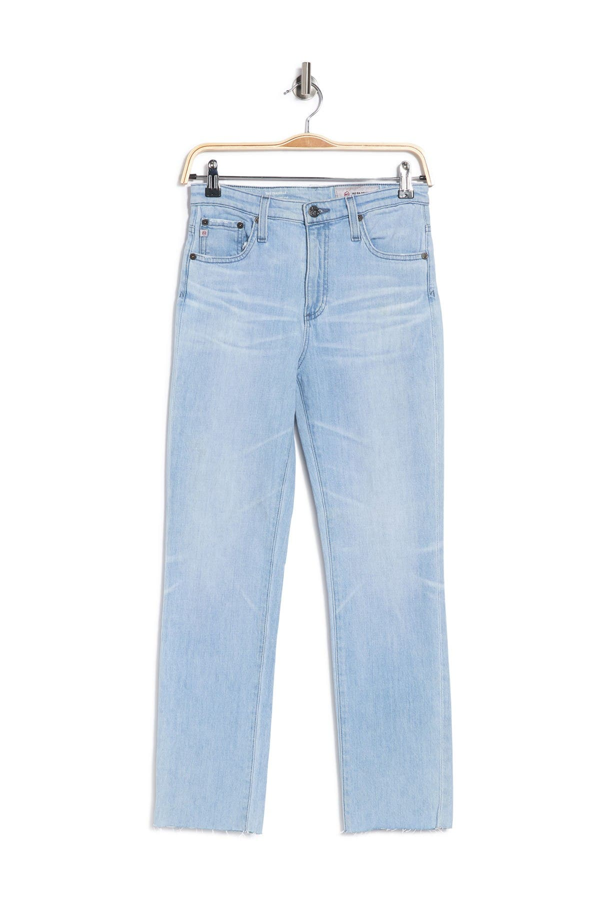 Ag ISABELLE STRAIGHT LEG CROP JEANS