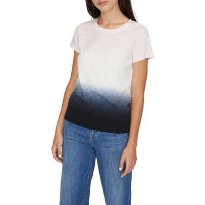 Sanctuary The Perfect Wash Dip Dye Tee, Black