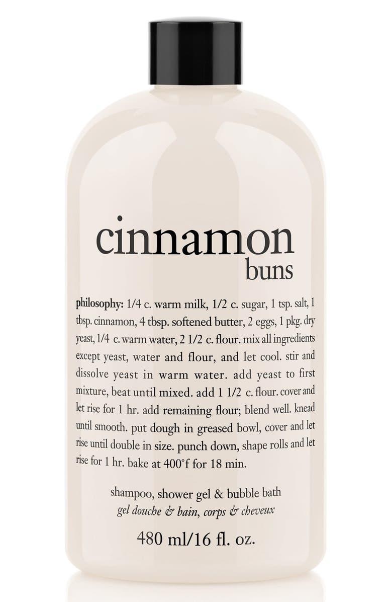PHILOSOPHY cinnamon buns shampoo, shower gel & bubble bath, Main, color, NO COLOR