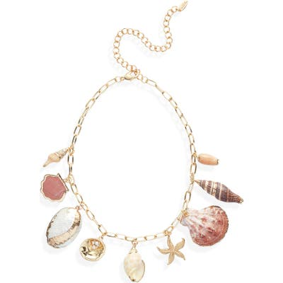 Ettika Private Island Shell Necklace