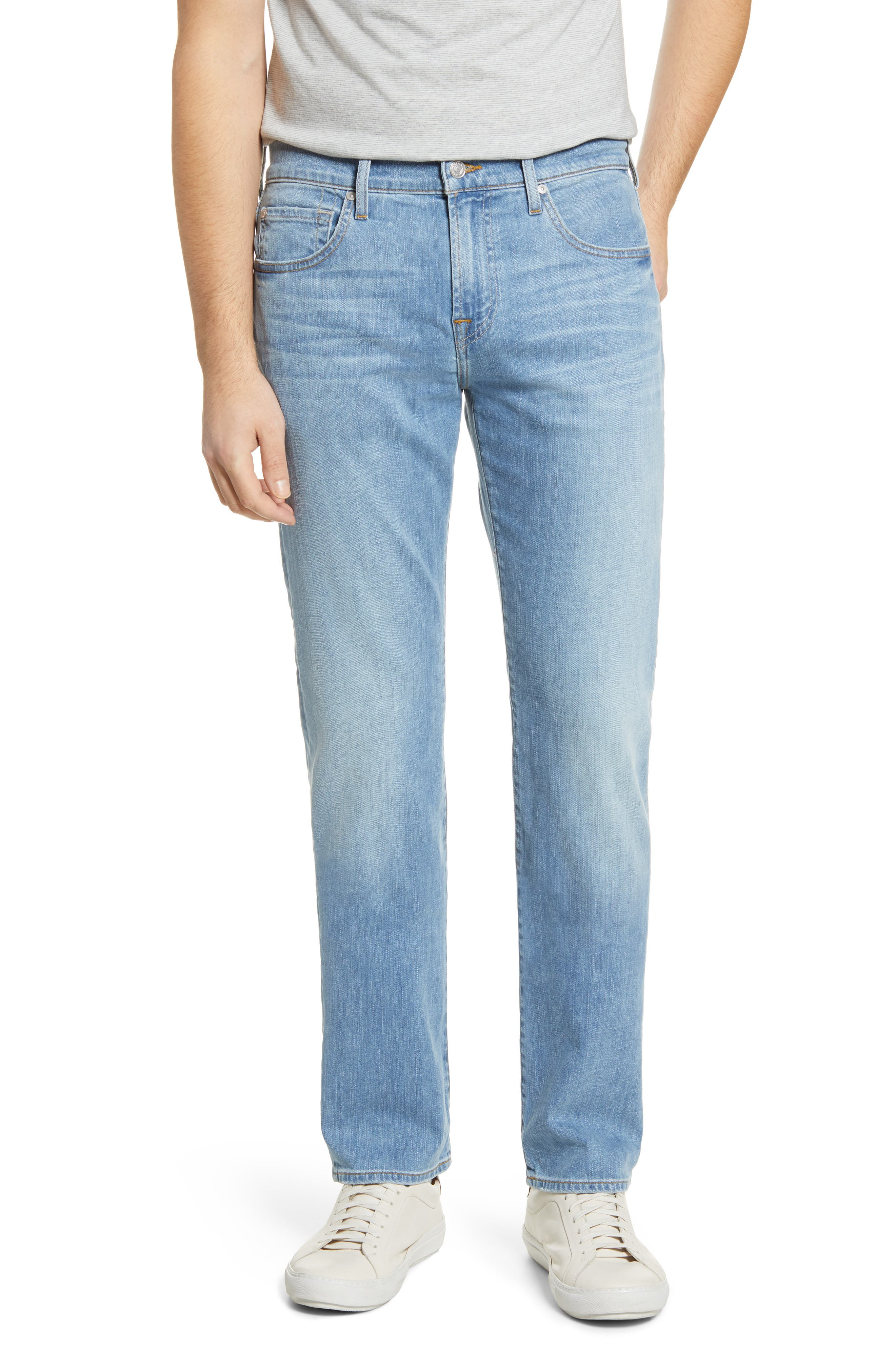 7 For All MankindR Men's 7 For All Mankind The Straight Slim Straight Leg Jeans,  29 - Blue